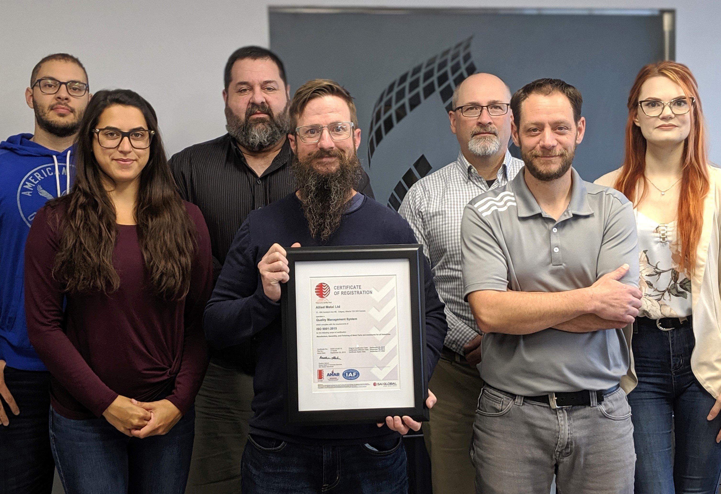 Allied Metal ISO Certification-6