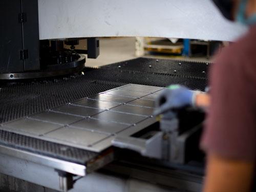CNC-Punching-Workpiece