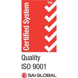 ISO 9001:2015 Certified Badge