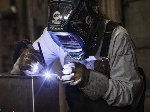 TIG welding mild steel