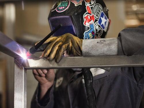 TIG welding stainless steel tube